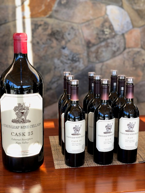 A Visit to the Famous Stag's Leap Wine Cellars 3